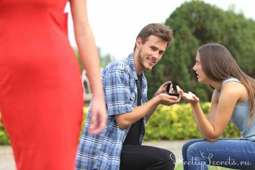 мужчина может все потерять, если он обижает свою женщину
